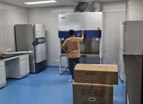 德州凌城区中医院PCR实验室净化