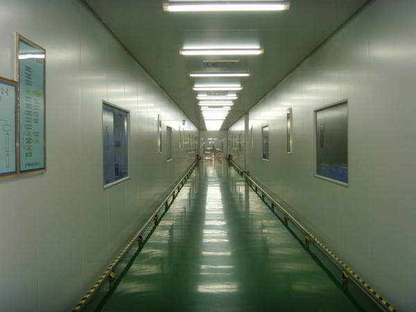 无尘洁净室装修防静电地板施工工艺要求